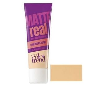 Avon Color Trend Podkład matujący Real Matte - Light Beige