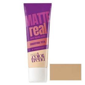 Avon Color Trend Podkład matujący Real Matte - Natural Beige