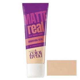 Avon Color Trend Podkład matujący Real Matte - Ivory
