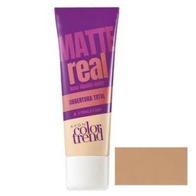 Avon Color Trend Podkład matujący Real Matte - Desert Beige