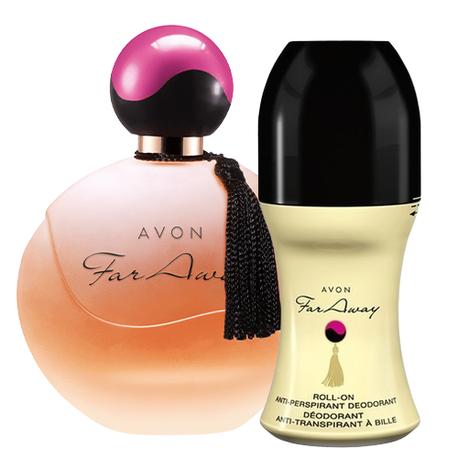 AVON Far Away Zestaw [Perfumy + Antyperspirant] (1)