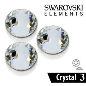 CYRKONIE SZLIFOWANE SS3 - CRYSTAL CLEAR - 100szt - szlif Swarovski