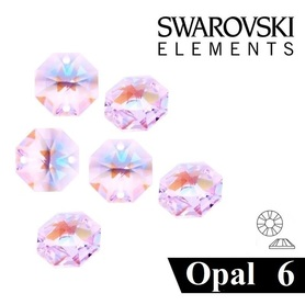 CYRKONIE SZLIFOWANE SS6 - CRYSTAL AB OPAL - 100szt - szlif Swarovski