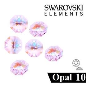 CYRKONIE SZLIFOWANE SS10 - CRYSTAL AB OPAL - 100szt - szlif Swarovski