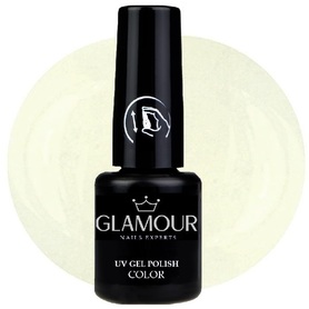 ♚18 Glamour - Lakier Hybrydowy [White - biały]