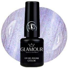 ♚16 Glamour - Lakier Hybrydowy [Silk Lavender - metaliczny]