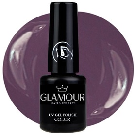 ♚42 Glamour - Lakier Hybrydowy [Muddy Violet]