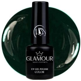 ♚45 Glamour - Lakier Hybrydowy [BlackGreen]
