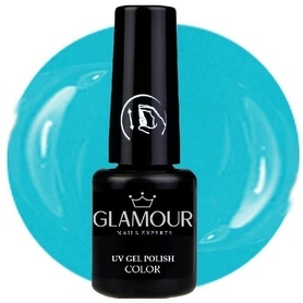 ♚46 Glamour - Lakier Hybrydowy [TurkisBlue]