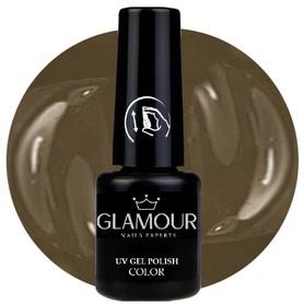 ♚137 Glamour - Lakier Hybrydowy [Nude Brown]