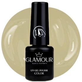 ♚136 Glamour - Lakier Hybrydowy [Light Nude]