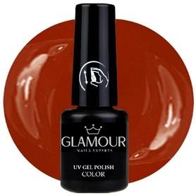 ♚66 Glamour - Lakier Hybrydowy [WineBrown]