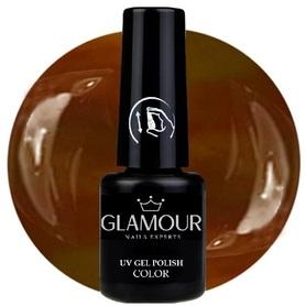 ♚91 Glamour - Lakier Hybrydowy [Brown]