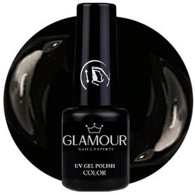 ♚52 Glamour - Lakier Hybrydowy [Black / Czarny]