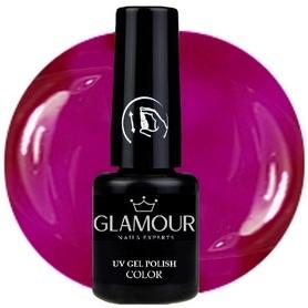 ♚106 Glamour - Lakier Hybrydowy [Neon Violet]