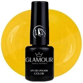 ♚196 Glamour - Lakier Hybrydowy [Olive Yellow]