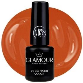 ♚176 Glamour - Lakier Hybrydowy [Orange Salmon]