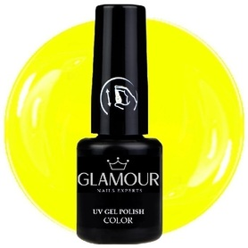 ♚101 Glamour - Lakier Hybrydowy [Neon Yellow]