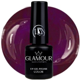 ♚115 Glamour - Lakier Hybrydowy [Dark Violet]