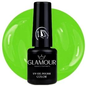 ♚135 Glamour - Lakier Hybrydowy [Neon Grun]