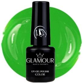 ♚62 Glamour - Lakier Hybrydowy [My Green]