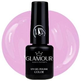 ♚110 Glamour - Lakier Hybrydowy [Heather Pink]