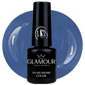♚183 Glamour - Lakier Hybrydowy [Blu Lavend]