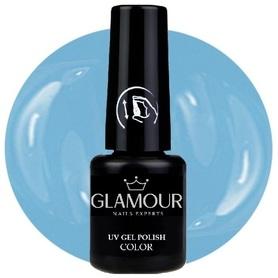 ♚139 Glamour - Lakier Hybrydowy [Soft Blue]