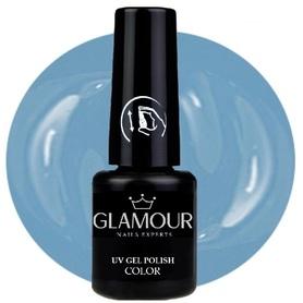 ♚141 Glamour - Lakier Hybrydowy [Baby Blue]