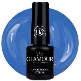 ♚144 Glamour - Lakier Hybrydowy [Himmel Blue]