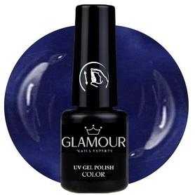 ♚185 Glamour - Lakier Hybrydowy [Saphir Blue]