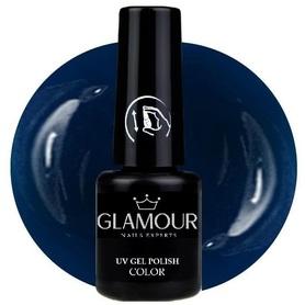 ♚187 Glamour - Lakier Hybrydowy [Signal Blue]