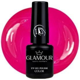 ♚83 Glamour - Lakier Hybrydowy [Lady Pink]