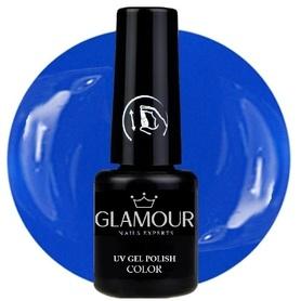 ♚99 Glamour - Lakier Hybrydowy [Mystic Blue]
