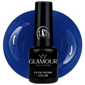 ♚186 Glamour - Lakier Hybrydowy [Violet Blue]