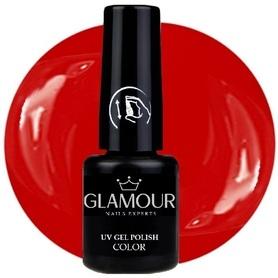 ♚54 Glamour - Lakier Hybrydowy [Elegant Red]