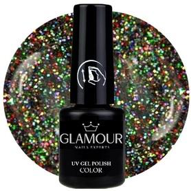 ♚169 Glamour - Lakier Hybrydowy [Glitter Disco - brokatowy]