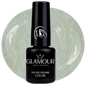 ♚147 Glamour - Lakier Hybrydowy [Metallic Weiss - Metaliczny]