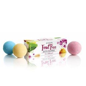 Avon Musujące kule do kąpieli Fruit Fizz
