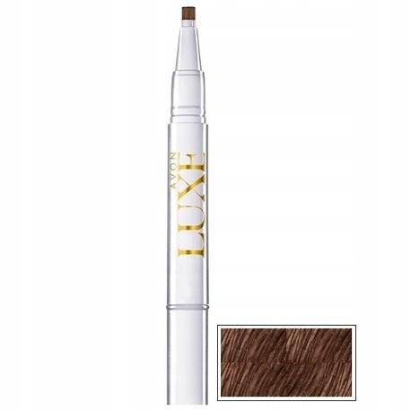 Avon Luxe Wypełniający żel Do Brwi Kreator Dark Brown