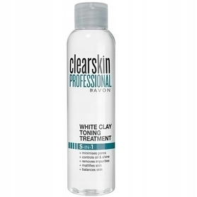 AVON Clearskin tonik z białą glinką i kwasem salicylowym - 100ml