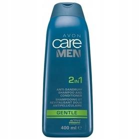 AVON Care Men Delikatny szampon przeciwłupieżowy i odżywka - 400ml